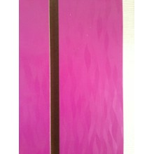 18mm PVC/Laminated Slatwall for Display
