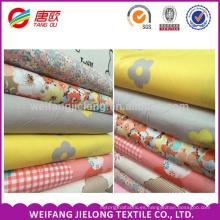 Tela del lecho de la tela cruzada de algodón 100% al por mayor de la fábrica