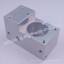 Peças de alumínio usinadas CNC com usinagem CNC