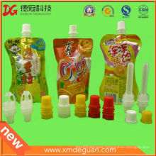 Wholesale Milk Chocolate Suction Bag Spout Cap