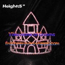 5inch Castle Crystal Crowns