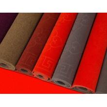 Fábrica al por mayor antideslizante de terciopelo alfombra jacquard
