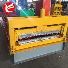 Corrugated aluminum panels roll forming machine
