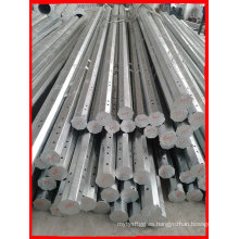 Tubería de acero galvanizada de acero eléctrico