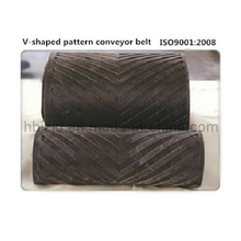 High-Incline V-Patterned Chevron Conveyor Belt