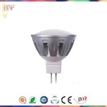 Refletor LED de alumínio MR16 de alta potência com 1W / 3W / 5W / 7W com lâmpada economizadora de energia