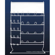Metal Wire Wiper Blade Wall Hanging Display Rack