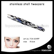 Pretty plastic eyebrow tweezers/eyelash tweezer