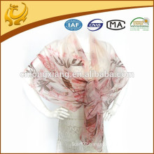 High Quality And Super Soft 100% Silk Chiffon Scarf