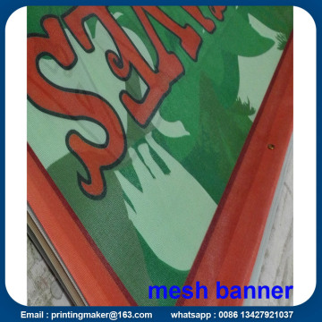 Custom Printed Outdoor Mesh Banner