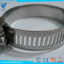 EN 303 14.2mm stainless steel hose hoops made in china used in car