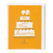 Invitation faite sur commande de fête d'anniversaire Carte de voeux Merci cartes Or