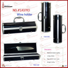 Leather Smart Box, Small Aluminum Box Gift Box Manufacturer (1437R3)