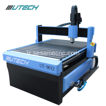 3D Ahşap 9012 Cnc Router 2.2Kw Oyma Makinesi