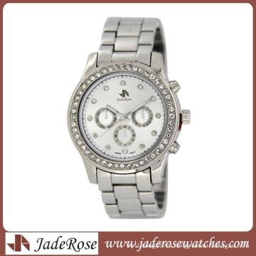 2015 Diamond Alloy Watch with Calendar