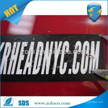 China Alibaba leading anti-fake self destructible sticker/eggshell sticker