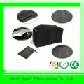 Outdoor Heavy Duty Black Oxford Medium Gas Stove Cover