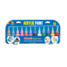 18ml non toxic acrylic paint set