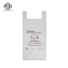 Биоразлагаемые благотворительных PE кладет в мешки для продажи, с печатью