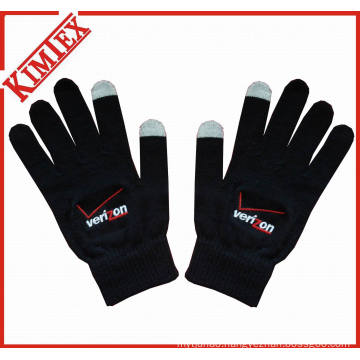 100% Acrylic Promotion Knitted Screen Texting Glove