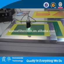 Large format screen printing equipment