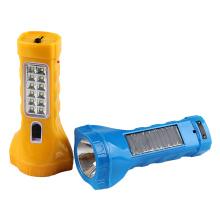 Multi-Function Solar LED Flashlight