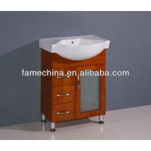 2013 venta caliente tocador de baño de madera maciza