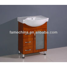 2013 hot selling solid wood bathroom vanity