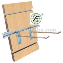 strong supplying ability for slotted groove MDF board with alu bar