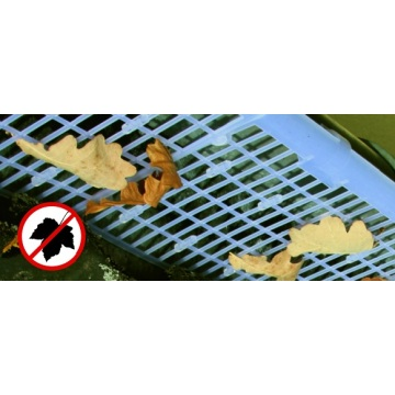 Gutter Guard Mesh Keeping Leaves