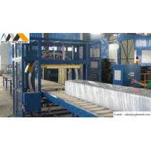 Envolvedora horizontal de perfil de alumínio