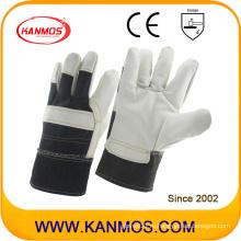 Белая мебель натуральной кожи натуральных перчаток для обеспечения безопасности рук (310061)