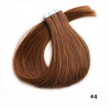 Las mejores tramas brasileñas virginales de la piel del pelo humano del grado 5a con la extensión del pelo de la cinta
