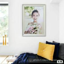 Cadre de photo de décoration de maison Mutiple bois couleur