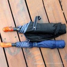 Parapluie de Golf manche en bois (YS-G1007A)