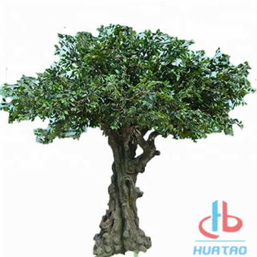 Albero di Banyan artificiale anti-UV all'aperto di grandi dimensioni