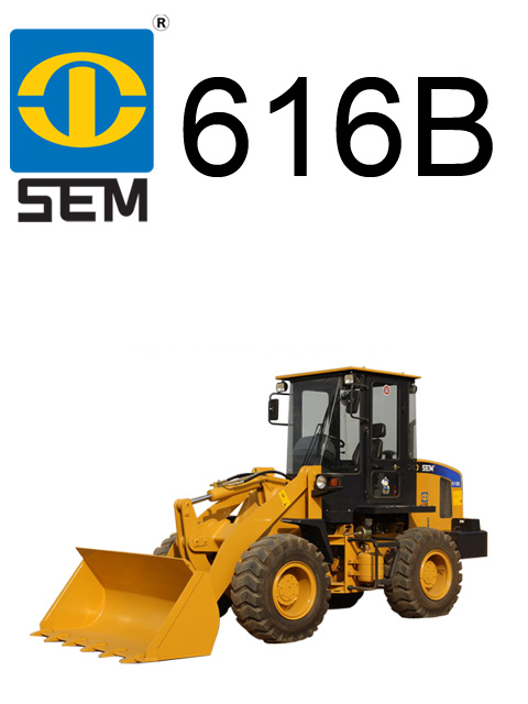 Earth Moving for Sem616B Mini Loader Building Machine