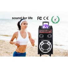 Alto-falante Karaoke Ativo Digital com USB / SD / FM
