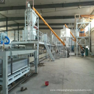 Compound straw board equipment