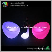 LED acende móveis ao ar livre