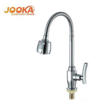 Cheap China supplier kitchen sinks zinc alloy chrome faucet
