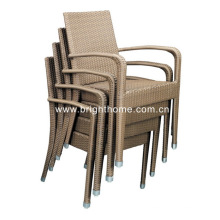 Stackable Chair Wicker Chair Outdoor Dining Chair