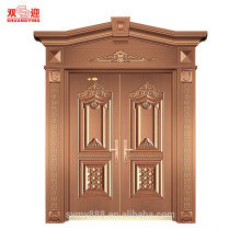 Good look golden steel door with roman column in China
