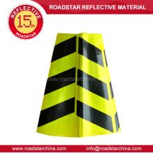 Manga de cono reflectante de seguridad vial