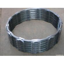 Hot-Dipped galvanizado Iron Razor arame farpado