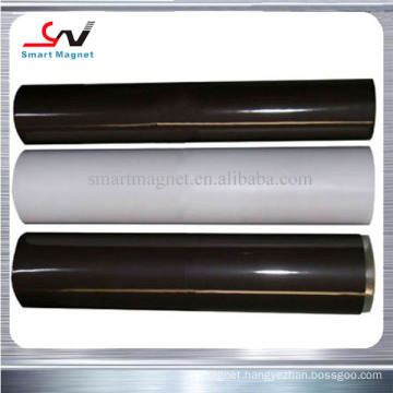 Cheap high quality adhesive PVC plain flexible rubber magnetic roll