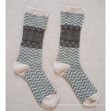 Frauen-Kunden-Entwurfs-strickende Socken