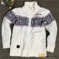 Les adolescents moquent pull Cardigan à manches longues col Full Zip