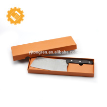 """German Steel Cutlery 7"""" Chopping Knife Chinese Chef's Knife with Pakkawood Handle with Case"""