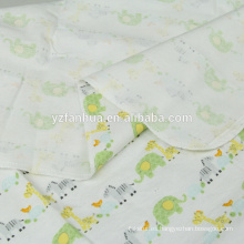 Niños de franela de algodón transpirable de alta calidad para bebés mantas de bebés